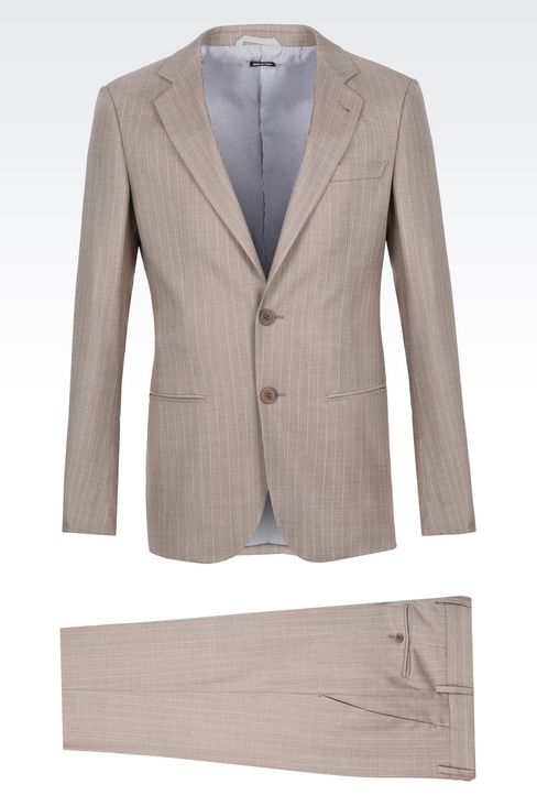 SOHO WOOL AND SILK SUIT : Suits Men by Armani - 1