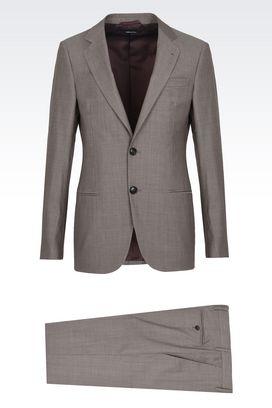 Armani Suits Men soho pure wool suit