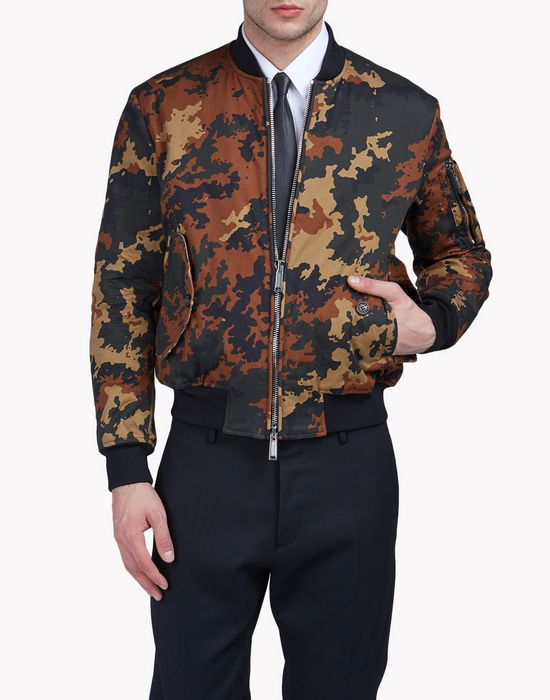camouflage bomber jacket coats & jackets Man Dsquared2