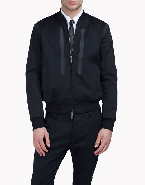 thermo-sealed bomber jacket mäntel & jacken Herren Dsquared2