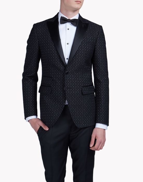 jacquard london tux jacket mäntel & jacken Herren Dsquared2