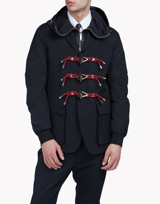 techno cord jacket coats & jackets Man Dsquared2