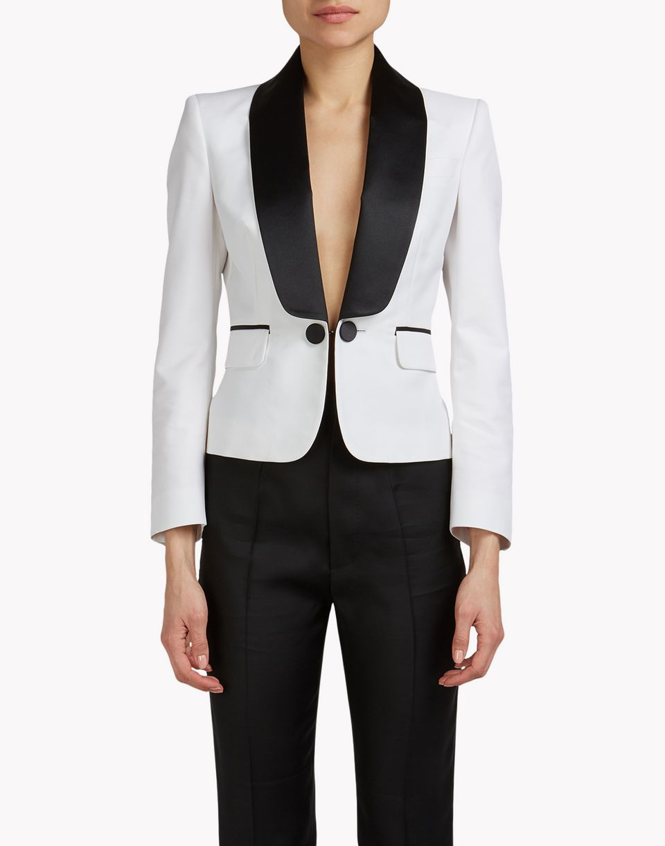 shawl collar blazer coats & jackets Woman Dsquared2