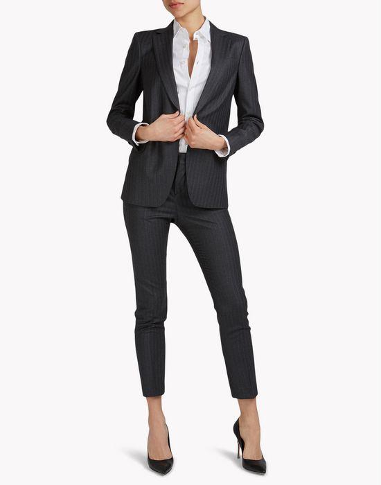 cigarette suit combined looks Woman Dsquared2