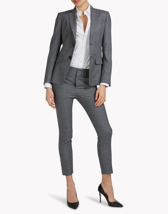 london suit combined look Woman Dsquared2
