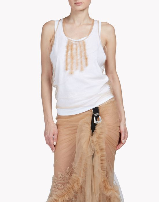 tulle jersey top conjuntos Mujer Dsquared2