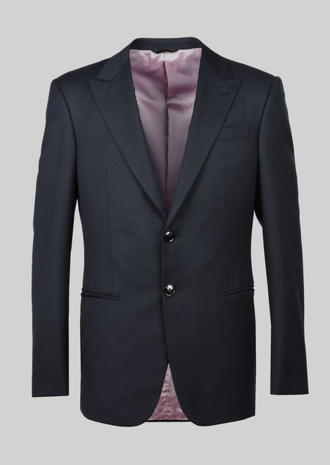 TRADER BLU PURE WOOL SUIT: Suits Men by Armani - 3