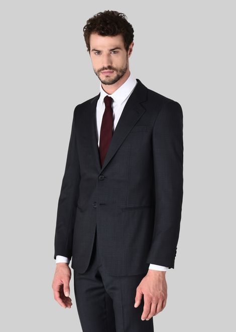 TRADER BLU PURE WOOL SUIT: Suits Men by Armani - 2