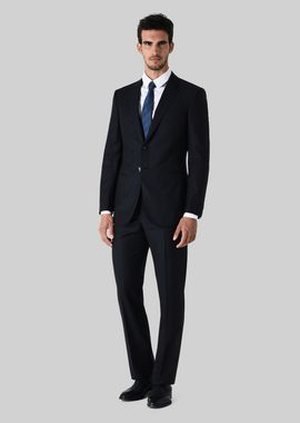Armani Suits Men wall street wool suit