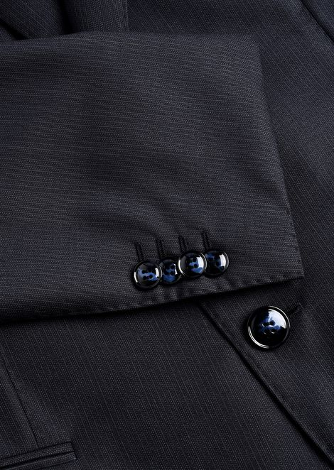 WALL STREET WOOL SUIT: Suits Men by Armani - 5