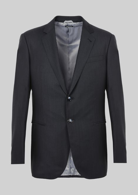 WALL STREET WOOL SUIT: Suits Men by Armani - 3