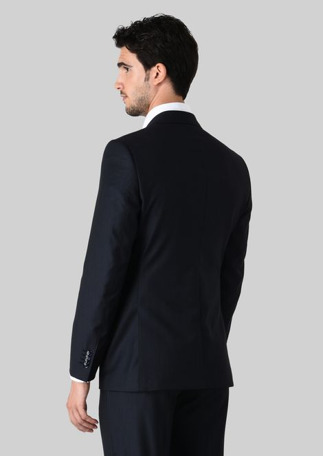 WALL STREET WOOL SUIT: Suits Men by Armani - 4