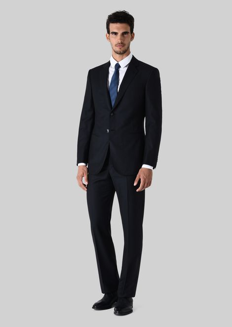 WALL STREET WOOL SUIT: Suits Men by Armani - 1