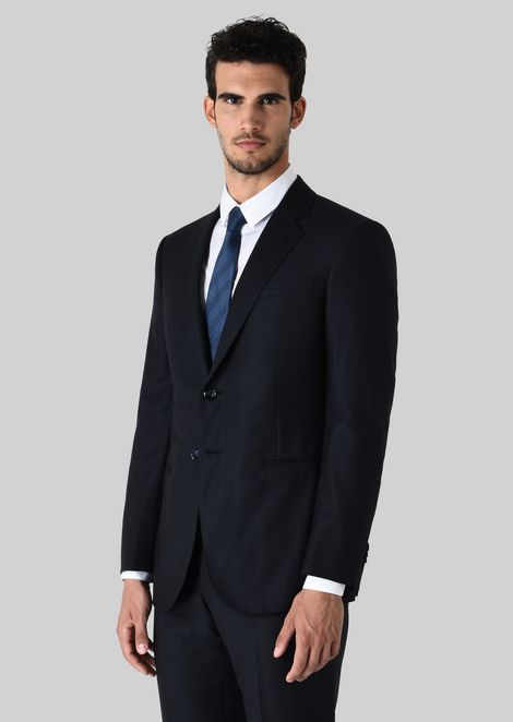 WALL STREET WOOL SUIT: Suits Men by Armani - 2
