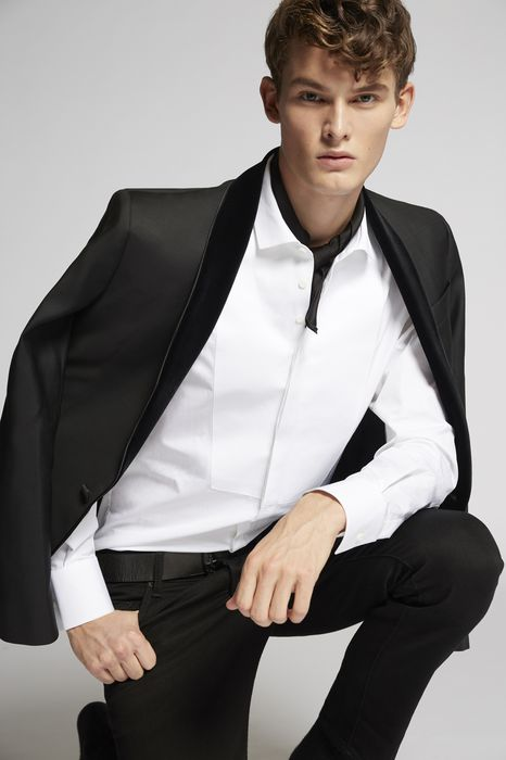 velvet lapel tokyo blazer coats & jackets Man Dsquared2