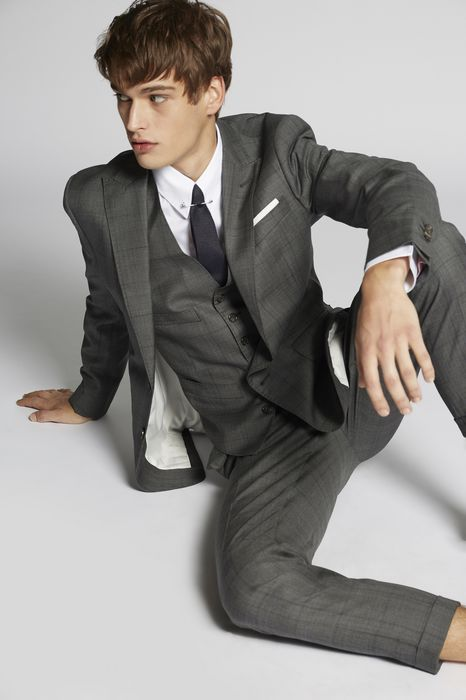 prince of wales london suit costumes Homme Dsquared2