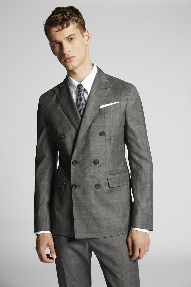 tropical weight stretch worsted wool napoli suits suits Man Dsquared2