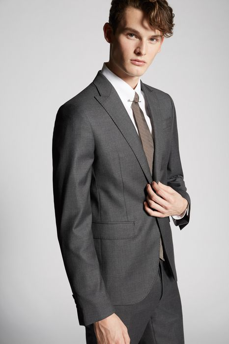 fine textured wool tokyo suit suits Man Dsquared2