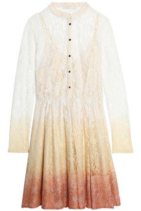 마쥬 미니 드레스 MAJE Dégradé corded lace mini dress