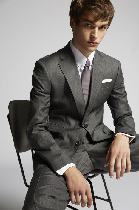 dark prince of wales roma suit suits Man Dsquared2