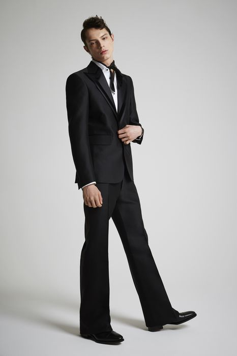 wool 70's fashion suit suits Man Dsquared2
