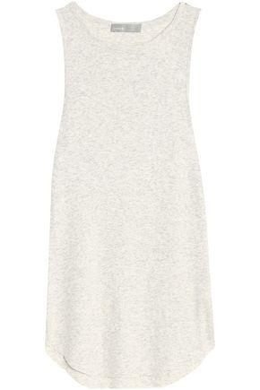 빈스 민소매 블라우스 라이트 그레이 Vince Pima cotton and modal-blend top,Light gray