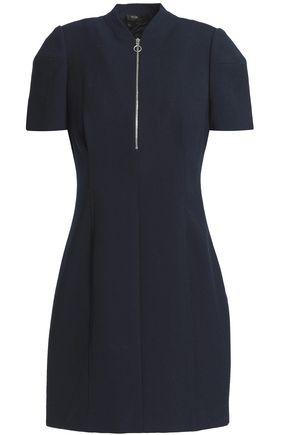 마쥬 크레이프 미니 원피스 MAJE Crepe mini dress,Navy