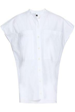 조셉 JOSEPH Cotton-poplin shirt,White