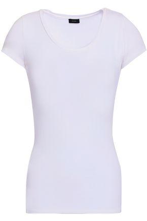 조셉 JOSEPH Stretch-jersey T-shirt,White