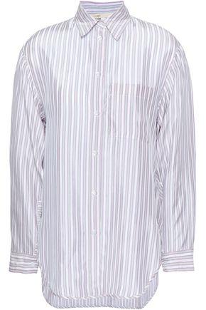 마쥬 스트라이프 우븐 셔츠 MAJE Striped woven shirt,Lilac