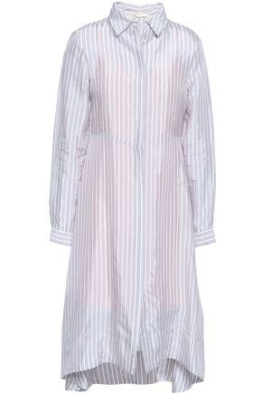 마쥬 MAJE Striped woven shirt dress,Lilac