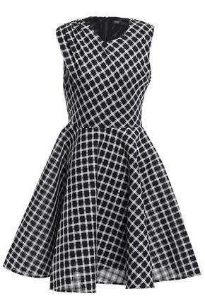 마쥬 MAJE Flared woven dress,Black