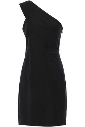 마쥬 MAJE One-shoulder cady dress,Black