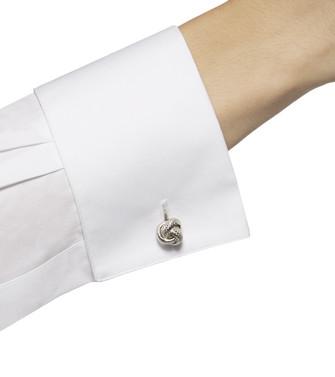 ERMENEGILDO ZEGNA: Silver Cufflinks Silver - 50137953LW