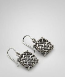 EarringsJewellery100% 925/1000 silverGrey Bottega Veneta