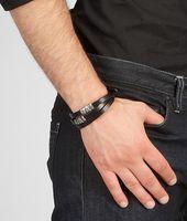 Cuir Oxydized Black Silver Bracelet