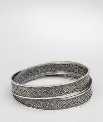 BraceletJewelry925/1000 silverGrey Bottega Veneta