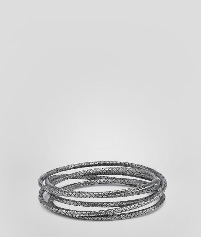 Intrecciato Oxydized Bracelet