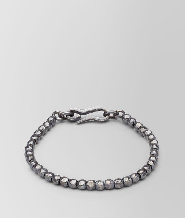BOTTEGA VENETA BRACELET SILVER, INTRECCIATO DETAIL Bracelet U fp