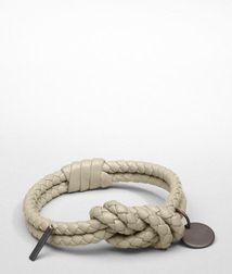 Leather BraceletSmall Leather GoodsNappa leatherWhite Bottega Veneta®