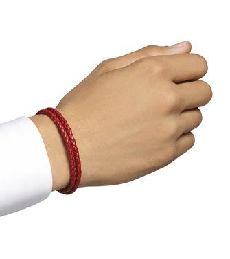 ERMENEGILDO ZEGNA: Bracelet Red - 50141428MN