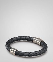 BraceletJewelryNappa leather, 925/1000 silverBrown Bottega Veneta®