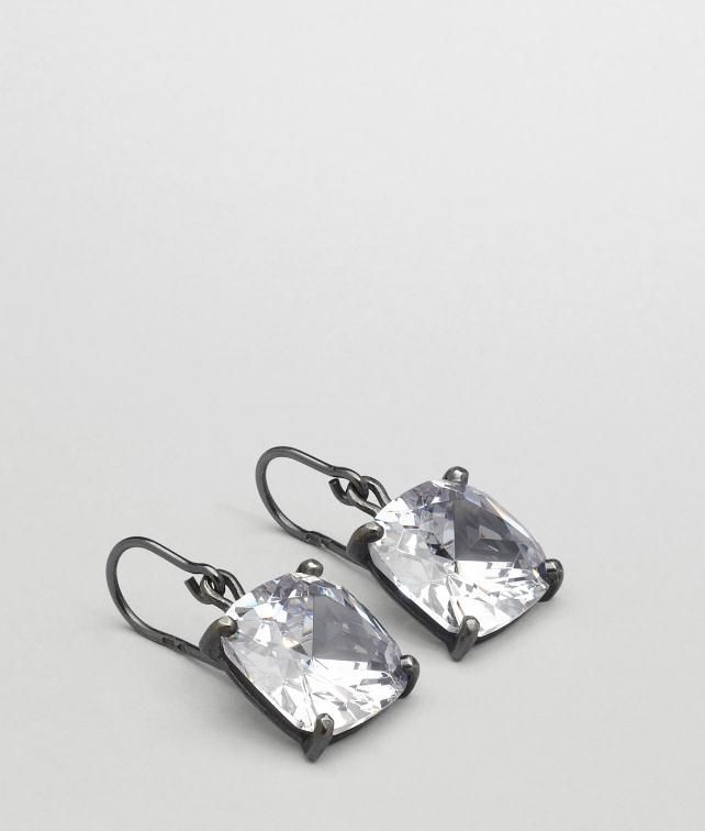 Oxydized Zircon Earring