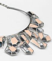 Enamelled Antique Silver Necklace