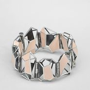 Enamelled Antique Silver Bracelet - Bracelet - BOTTEGA VENETA - PE13 - 1400