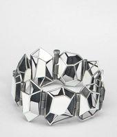 Enamelled Antique Silver Bracelet