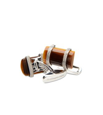 Silver Cufflinks  ERMENEGILDO ZEGNA
