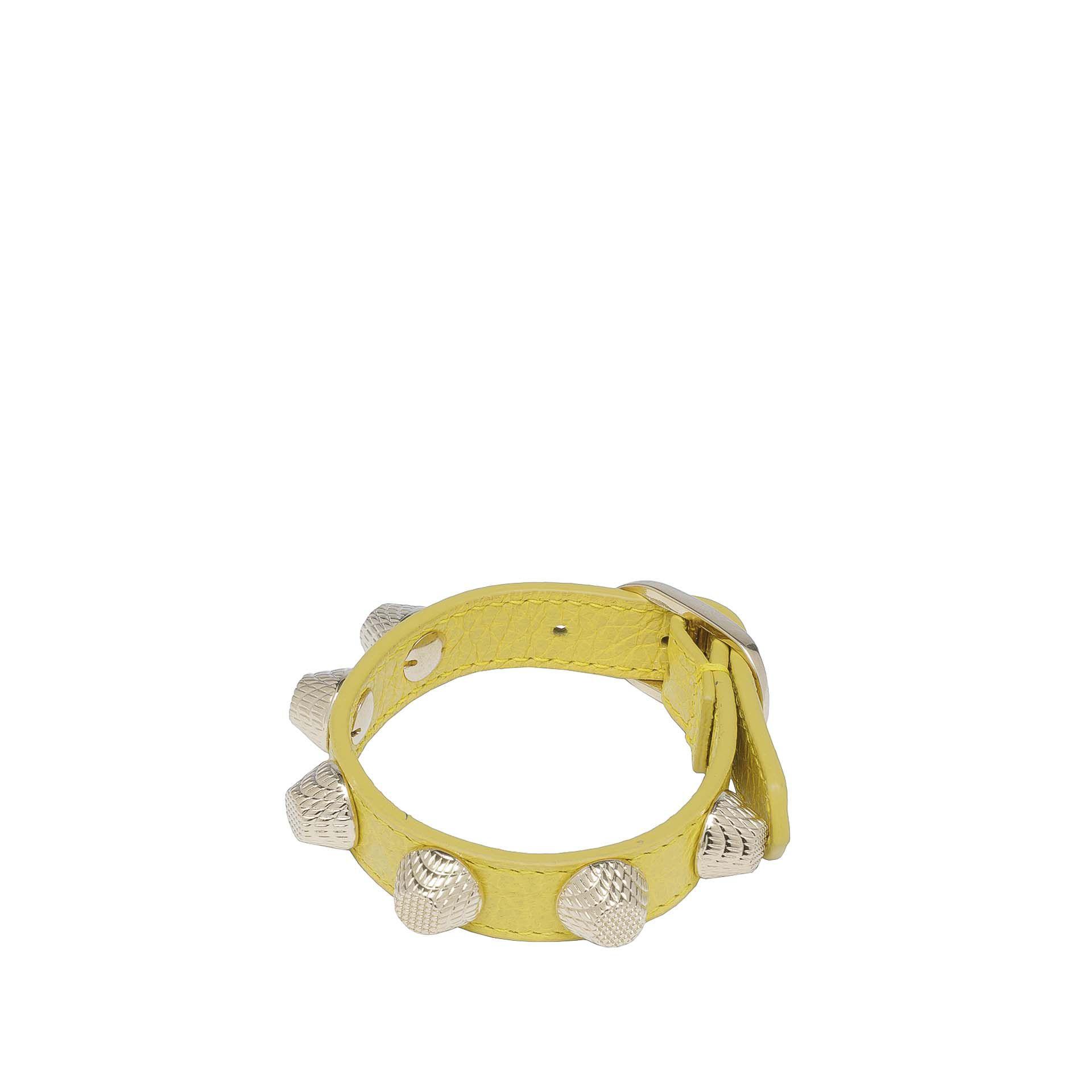 Balenciaga Giant Armband Stud Gold