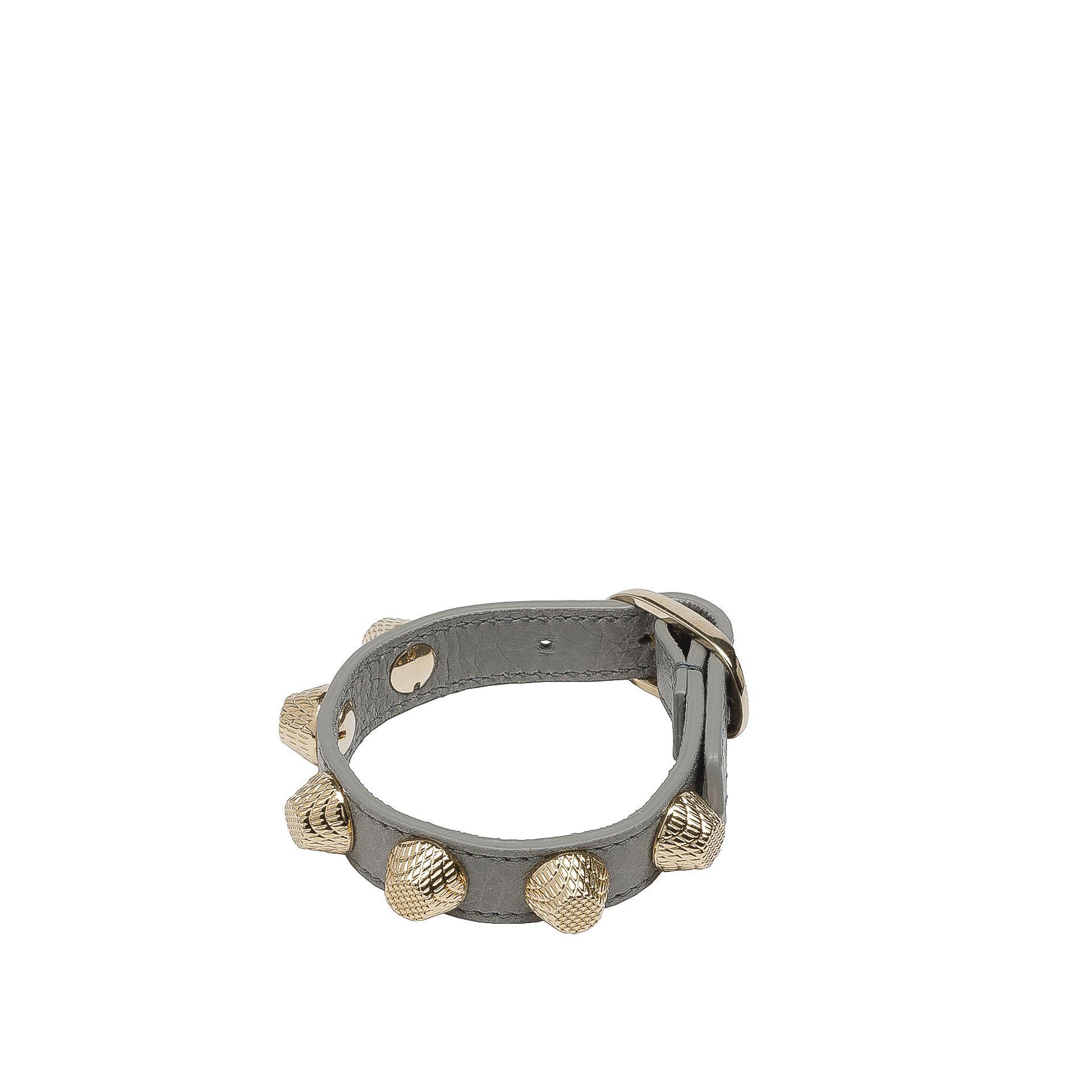 Balenciaga Giant Bracelet Stud Or