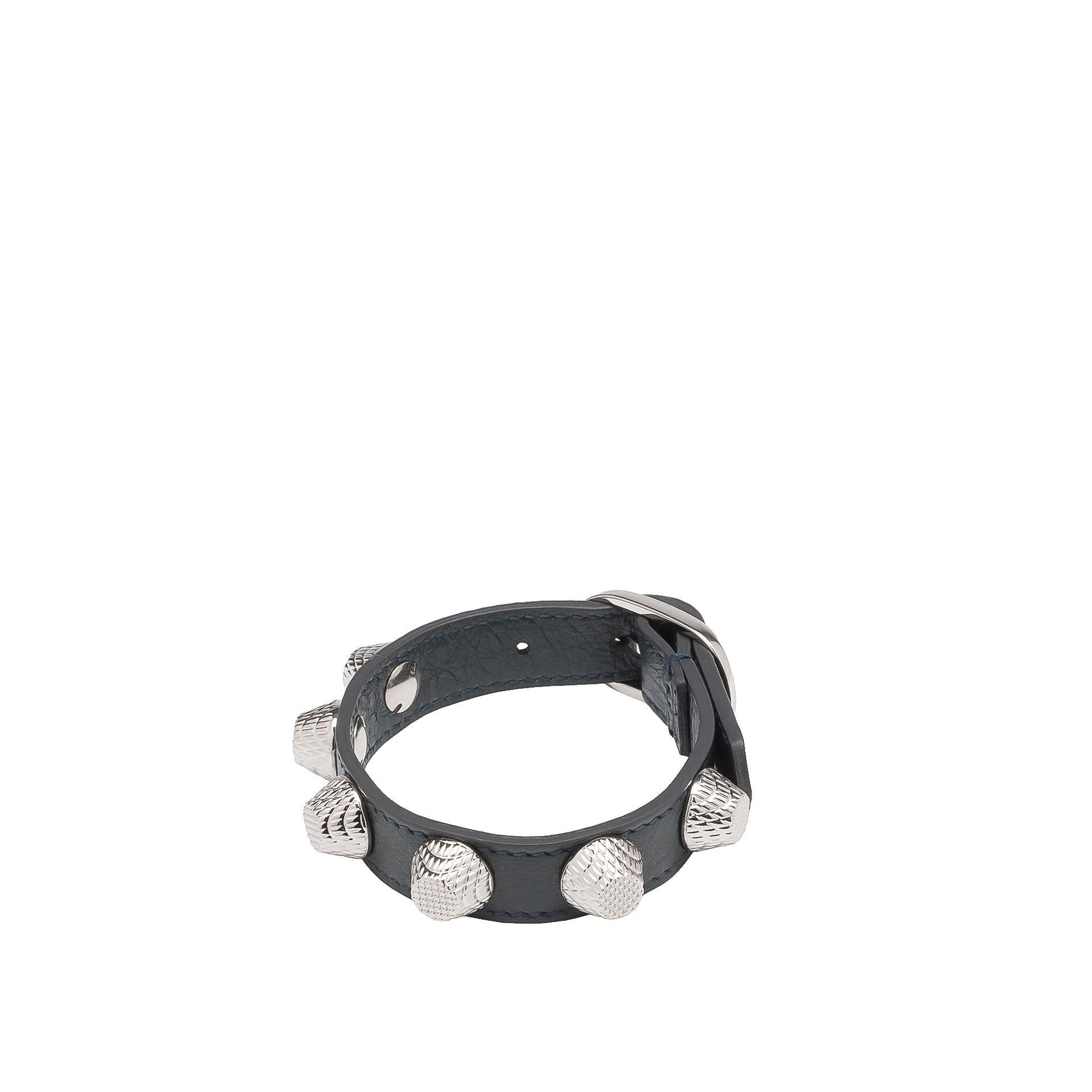 Balenciaga Giant Bracelet Stud Argent